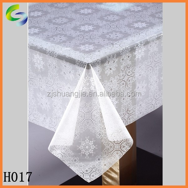 Super Clear White Plastic PVC Sheet for Table in Rolls