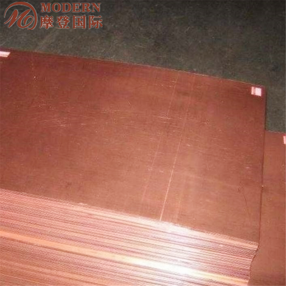 ASTM OF-CU good performance copper plate