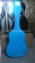 Professional custom colorful classical fiberglass guitar case