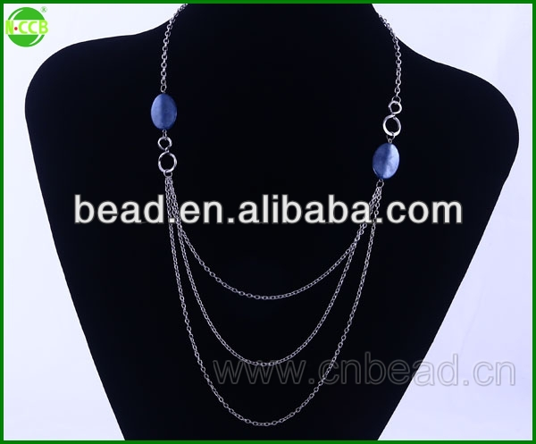 fashion new design jewelry necklace free rosary necklace