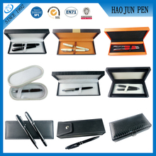 High Quanlity Plastic Wood Paper Leather Promotion Pen Box Best gift Set