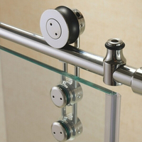 Frameless Stainless Walk-in Prefab Glass Sliding Shower Door/Enclosure Hardware