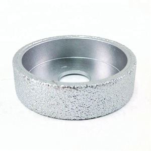 75mmx20MM Vacuum Brazed Diamond grinding wheel Flat grinding disc