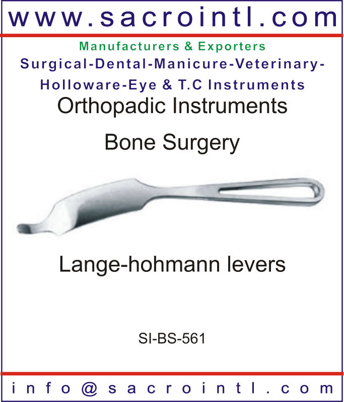Lange-hohmann levers Orthopedic Surgical Instruments