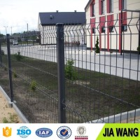 homely security twin wires decorative metal garden border fence