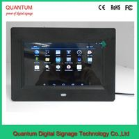 7 inch wifi network touch screen lcd advertising player lcd monitor usb video 3g media player for advertising