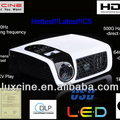 15% off Promotion!!! C5 Full HD 1080p home theater projectors TV tuner