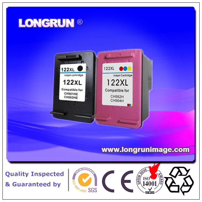 computer accessory ink cartridge compatible for HP122 XL