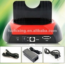 "3.5"" 2.5"" SATA all in 1 HDD dock/Docking Station + USB Hub"