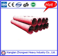 Double wall casing tubes for drilling rig parts