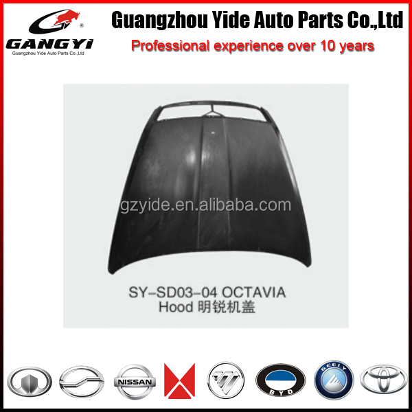 latest popular engine hood of SKODA OCTAVIA automobile spare parts