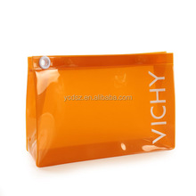 ORANGE clear eva cosmetic bag