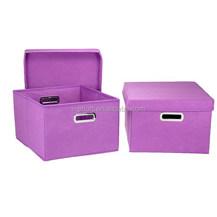 High Quality file document and book storage box with metal handle