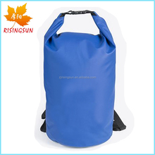 Camping PVC Backpack Dry Bag 500D Tarpaulin Sports Bag Cheap Shoulder Bag for Diving