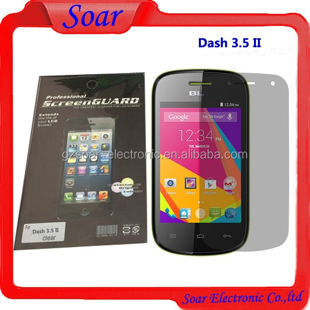 LCD screen protector for Blu dash 3.5 II D352, Hardess Screen Protector For Blu Dash 3.5 II