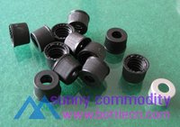 black open-topped polypropylene cap screw cap crimping for bottle