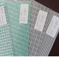 Waterproof Transparent PVC Mesh Fbric/ Clear Tarpaulin for Bags