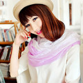 2015 fashion design woman good quality scarf hand-painted loop cape(SS002NL)
