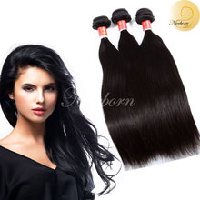 100% Peruvian 8A grade soft silky straight unprocessed Virgin Human hair