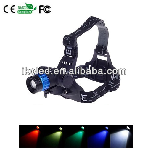 new CREE XML T6 RGB 5Mode Multifunction Bike Lamp and Head Lamp