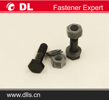 Steel structure building decking gi bolt and nut with washer
