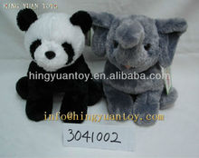 25cm panda bear stuffed toys with high quality and reasonable price