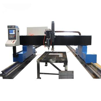 Cnc HD Plasma Cutting Machine With C.C, True Hole Technology