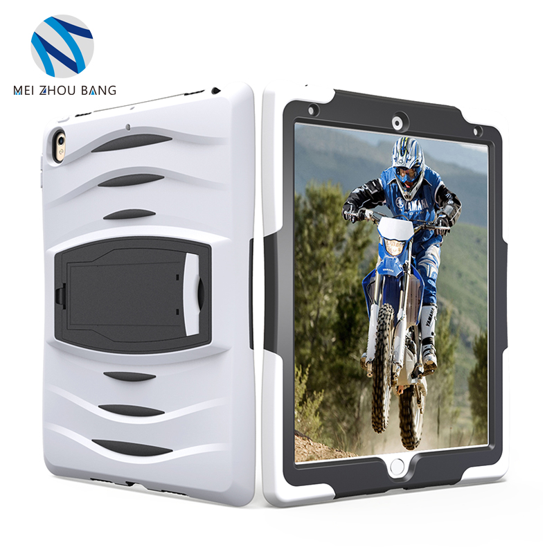 new desgin 3 in 1 PC TPU material tablet bumper case for <strong>ipad</strong> pro 10.5 inch