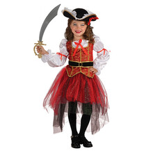 Factory price halloween costumes kids cosplay pirate costume sale
