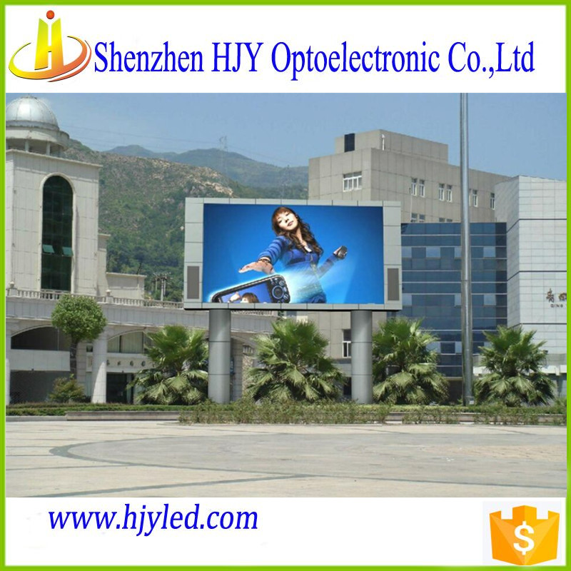Street advertising p8 outdoor led display big screen