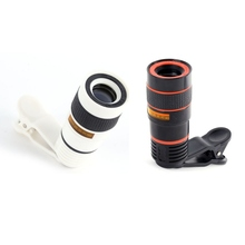 Clip 12X Zoom Mobile Phone Telescope Lens Telephoto External Smartphone Camera Lens For IPhone For Sumsung For Huawei