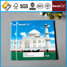 High Quality Cheap Promotional Soft Cover Paper Exercise Book