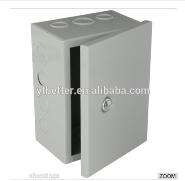 Sheet Electrical Enclosure Metal Steel Box Junction Hinge Cover