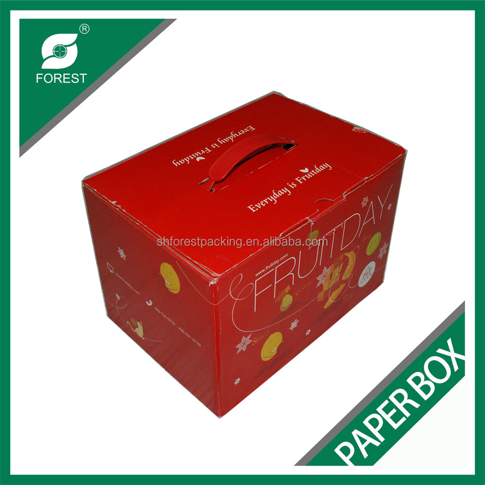 2017 BEST SELLING LOW PRICE CUSTOMIZED COLOR PRINTING FRESH FRUIT/VEGETABLES PACKAGING BOX CORRUGATED BOX SHIPPING