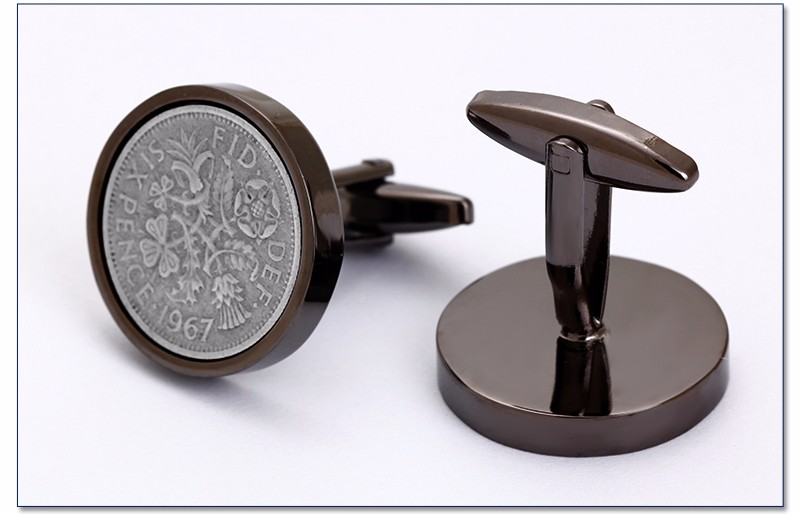 Custom DIY Design Stainless Steel Cuff link Blanks for Cufflinks
