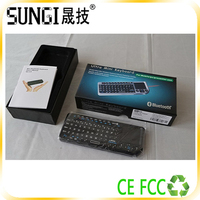 bluetooth keyboard touchpad remote control ir remote smart tv