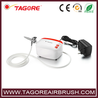mini air compressor for makeup with airbrush TG235K-01