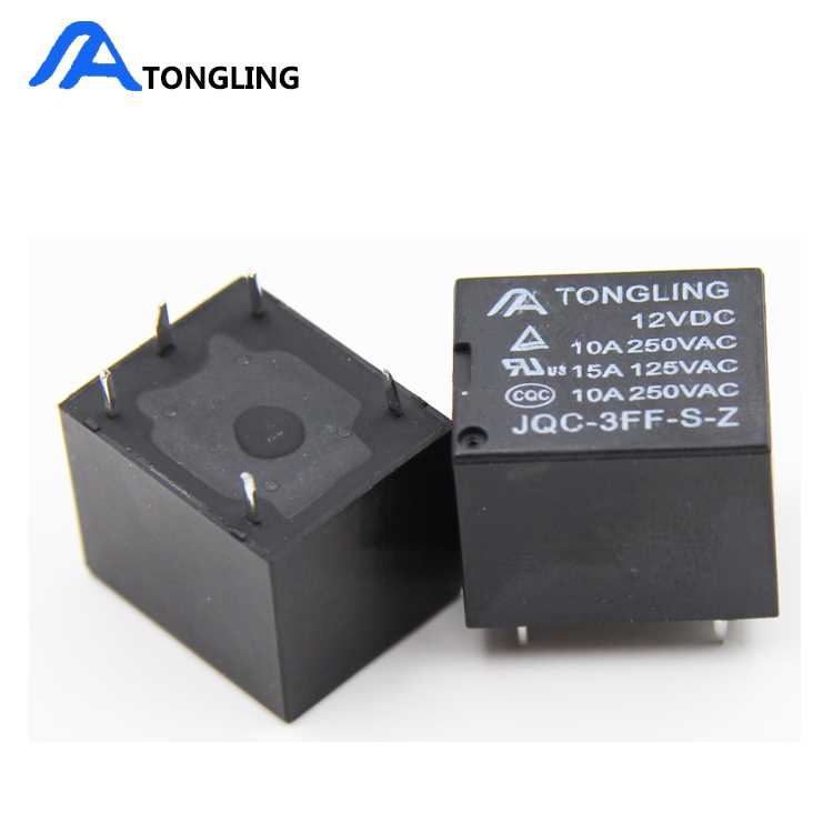 Good Price 5 pin 12V T73 Miniature Relay 12 volt relay jqx 3f relay