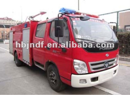 Foton Fire Fighting Truck 5000L ISO9001 Quality System Approved Fire Fighting Truck Manufacturer
