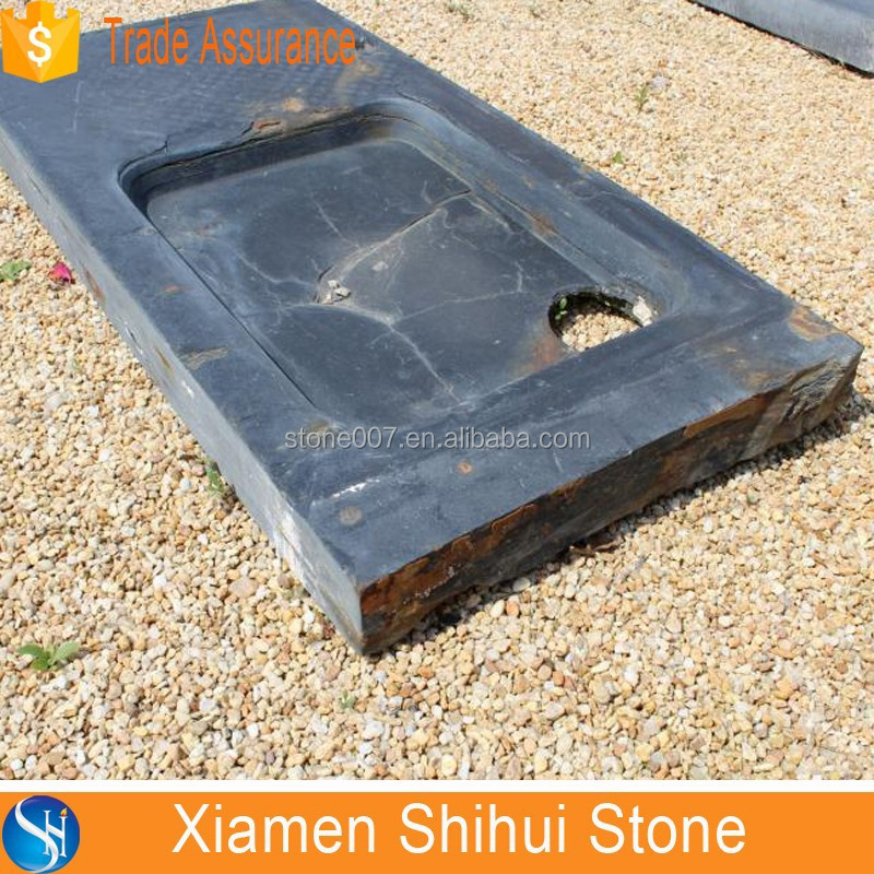 High Quality natural slate stone sink,11