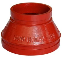 Ductile Iron Grooved pipe fitting and Grooved Concentric Reducer