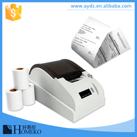 FC168 high quality with one year warranty thermal line portable printer