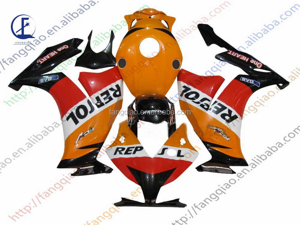Injection ABS Plastic Fairing Kit CBR1000 2012 2013 2014 For Honda