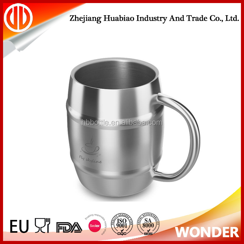 promotion summer 16oz cold cup stainless double wall