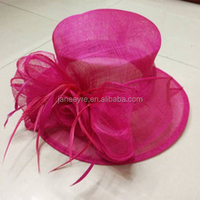 New Fashion Ladier Race 100% Sinamay Church Hat