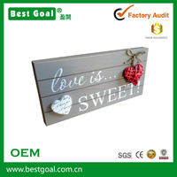Love Is Sweet decorative wood wall sign wall decoration