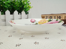 Cheap price custom Fast Delivery new bone china pierced plate