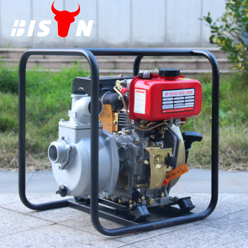 BISON CHINA TaiZhou 5hp <strong>Diesel</strong> Engine High Pressure Aquarium Water Pump