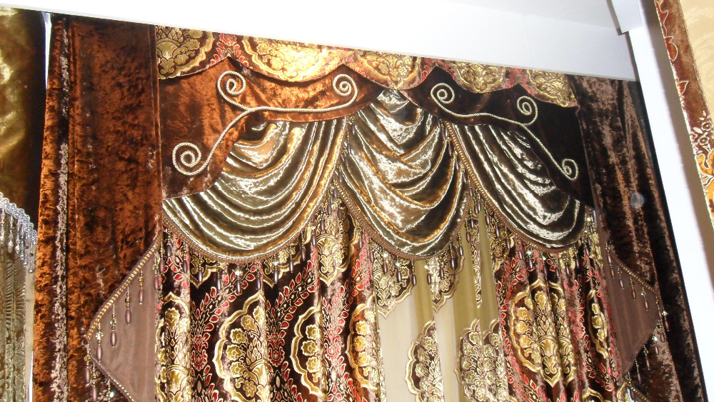 Popular Cheap Good Quality Curtain Buy European Style