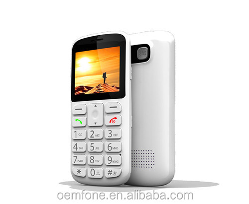 Elder mobile phone with big key for Senior people